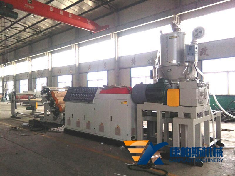 PP, PE, HIPS, PET sheet extrusion line